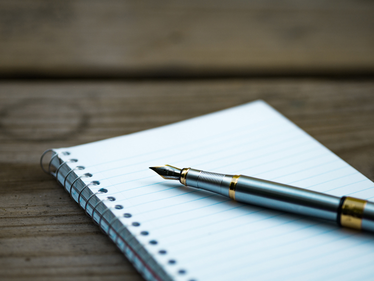 写経練習帳と筆ペンセット